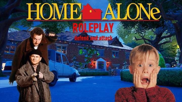Fortnite Roleplay Map Codes City Roleplay Home Alone